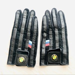 New BMW M-Series Classic Leather Driving Gloves XL